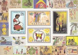 1981 Vanuatu Christmas Noel  Miniature Sheet Of 4 MNH - Vanuatu (1980-...)