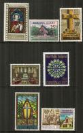 Chapelle Saint Barnabé (Melanesian Mission).  7 Timbres Neufs ** - Ile Norfolk