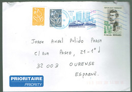 USED COVER 2008 FRANCE FRANCIA  TRAIN LILLE ARISTIDE BEGES HYDRAULIC ENGINEERING - France