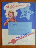 Protège Cahier  CONSERVES BONDUELLE  Usines A RENESCURE Et OYE PLAGE - Buvards, Protège-cahiers Illustrés