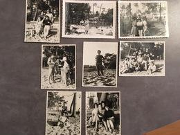 33 TAUSSAT MOUTCHIC LOT DE 8 PHOTOGRAPHIES - Lieux