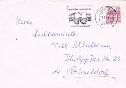 30348. Carta NEUSS (Alemania Federal) 1984. Rhein SEE Hafen Neuss, Ship, Barco - [7] República Federal