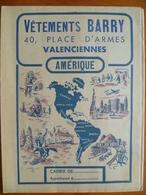 Protège Cahier  Vetements BARRY A VALENCIENNES - Unclassified
