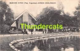 CPA BUENOS AIRES ARGENTINA JARDIN ZOOLOGICO  TRAIN - Argentine
