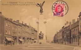 Charleroi - Avenue De Waterloo Et Monument Aux Héros - Charleroi