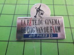 1418c Pin's Pins / Belle Qualité Et TB état !!!! : THEME CINEMA / LA FETE DU CINEMA DE DAG VAN DE FILM - Films