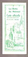 LA BOTTE DU HAINAUT - Carte Officielle - Syndicat Touristique De La Botte - Circa 1970 - Chimay-Beaumont-Rance - Cartes