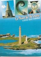 29 - PLOUGUERNEAU - Le Phare De L'Ile Vierge - 1 Timbre Philatélique Au Verso - Voir Scan - Cpm - écrite - - Plouguerneau