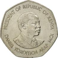 Monnaie, Kenya, 5 Shillings, 1985, British Royal Mint, TB+, Copper-nickel, KM:23 - Kenya