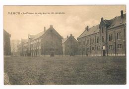 CPA : NAMUR - Intérieur De La Caserne De Cavalerie (Léopold) - Namur