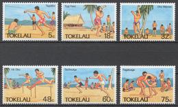 Tokelau 1987 Mi# 142-47** SPORTS - Tokelau
