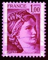 1977-78 - Sabine De Gandon - Variété Phosphore - N°1972 - Curiosidades: 1970-79 Usados