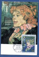 Carte  / Toulouse Lautrec / Albi / 12 Mars 1965 - Cartes-Maximum