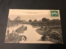 130 - (Hyeres)  SAN SALVADOUR Le Jardin (vue Sur La Mer) Ligne Du Sud De La France - 1911  Timbrée - Hyeres