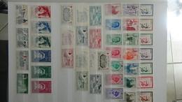Belle Collection De Timbres** Du Royaume Du Maroc Dont Bonnes Valeurs. A Saisir !!! - Collections (with Albums)