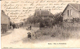 BUTRY RUE DE RICHEBOUT   CACHET 1906 TIMBRE DISPARU 1027 /d2 - Other Municipalities