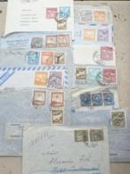 S6-Chili,  10 Lettres , Par Avion Vers 1938 - Cile
