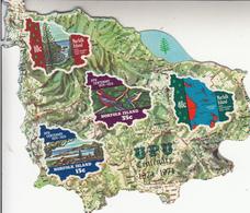"1974 Norfolk Island UPU Maps Self Adhesive  Souvenir Sheet  MNH  ""Was A Lot More Expensive 30 Years Ago :)"" - Norfolk Island"