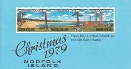 1979 Norfolk Island Christmas Noel  Souvenir Sheet  MNH - Norfolk Island