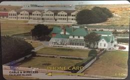 Paco \ ISOLE FALKLAND \ 161CFKA (0) \ Government House \ Usata - Falkland Islands