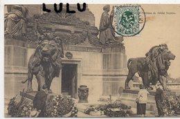 BELGIQUE : édit. Ern Thill N°99 Serie 1 : Bruxelles Tombeau Du Soldat Inconnu ( Belle Statue De Lions ) - Bélgica