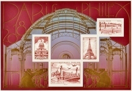 """2018  Feuillet  N° F5222  """" Salon Philex Paris""""  Neuf** - Sheetlets"""