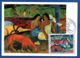 Carte  /  Gauguin : Arearea / Paris / 1968 - Cartes-Maximum