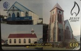 Paco \ ISOLE FALKLAND \ 314CFKB \ Jesus 2000 Years \ Usata - Falkland Islands