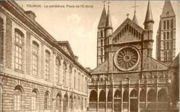 TOURNAI - Place De L'Evêché - Edition Belge, Bruxelles - Tournai
