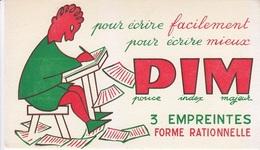 Buvard PIM Pour écrire Facilement, Pour écrire Mieux, Stylo, Crayon, Scolaire, écolier - Buvards, Protège-cahiers Illustrés
