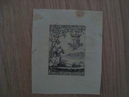 EX LIBRIS Mls P DE MONLEON - Ex-libris