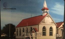 Paco \ ISOLE FALKLAND \ 289CFKA \ St. Mary's Church \ Usata - Falkland Islands