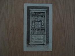 EX LIBRIS DE CASTELNAU D'ESSENAULT - Ex-libris