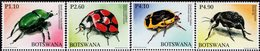 Botswana - 2008 - Insects - Beetles - Mint Stamp Set - Botswana (1966-...)