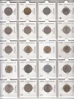 Yugoslavia Collection 60 Coins In Oblo - First Choice - Jugoslavia
