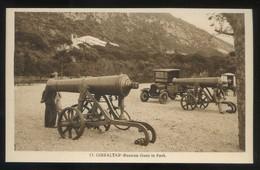 *Russian Guns In Park* Ed. L. Roisin Nº 13. Nueva. - Gibraltar
