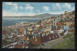 *A Bird's Eye View Of The Town* Ed. Millar & Lang Nº 19. Circulada 1919. - Gibraltar