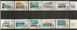 Navires D'approvisionnement De L'île Norfolk.  12 Timbres Neufs **, 3 Séries Complètes.  Côte 38,00  € EUR - Norfolk Island