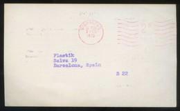 TP Comercial *J.J. Berliner & Staff. New York* Meds: 89 X 149 Mms. Circulada 1970. - Gibraltar