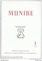 *MUNIBE* (ARCHEOLOGIE < EUSKALLERIA < AITZBITARTE) 1949 N°1 - BOLETIN SOC. VASCONGADA (Livre En Basque) - Ontwikkeling