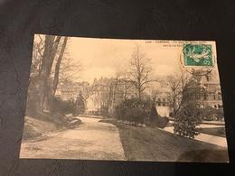 4798 - CAMBRAI Un Coin Du Jardin Public Vers La Rue Cambresis - 1909 Timbrée - Cambrai