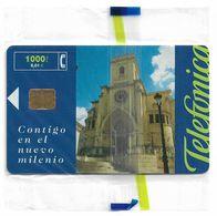 Spain - Contigo En El Nuevo Milenio - CP-179 - 02.2000, 1000PTA, 15.500ex, NSB - España