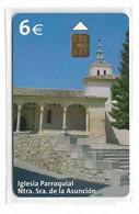 Spain - Iglesia Parroquial Ntra. Sra. De La Asunción - CP-288 - 04.2005, 6€, 30.800ex, NSB - España