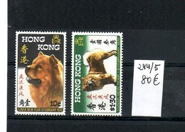 H O N G   K O N G -   SERIE NUEVA CON GOMA Y SIN CHARNELA - Hong Kong (1997-...)