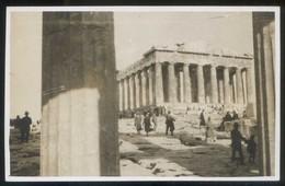 Atenas. Lote 6 Fotos Fechadas 1931. Sin Circular. - Grecia