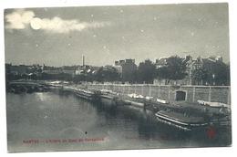 NANTES - Bateaux Lavoirs Bords De L' Erdre - Quai De Versailles - Phototyphie L'Hélio éditeur - Nantes