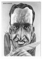 Illustrateur Bernard Veyri Caricature Jean Charles Auteur De La Foire Aux Cancres - Veyri, Bernard