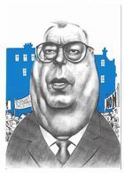 Illustrateur Bernard Veyri Caricature La Grande Manif Marc Blondel FO Syndicalisme - Veyri, Bernard