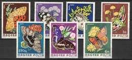 Hungary 1974. Animals / Butterfly Nice Set, Used ! - Farfalle