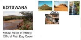 Botswana - 2003 Natural Places Of Interest FDC # SG 1000-1003 - Botswana (1966-...)